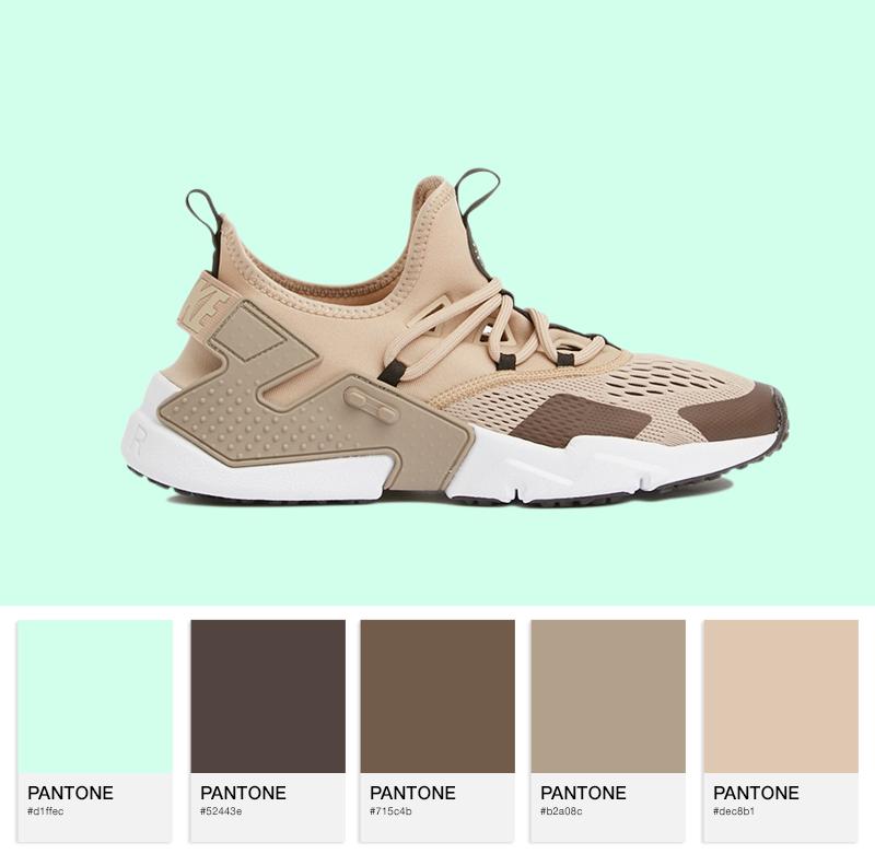 Air Huarache — Sand / Velvet Brown-Sepia Stone / White