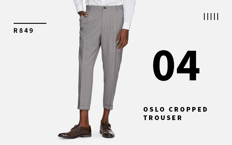 Oslo Cropped Trouser