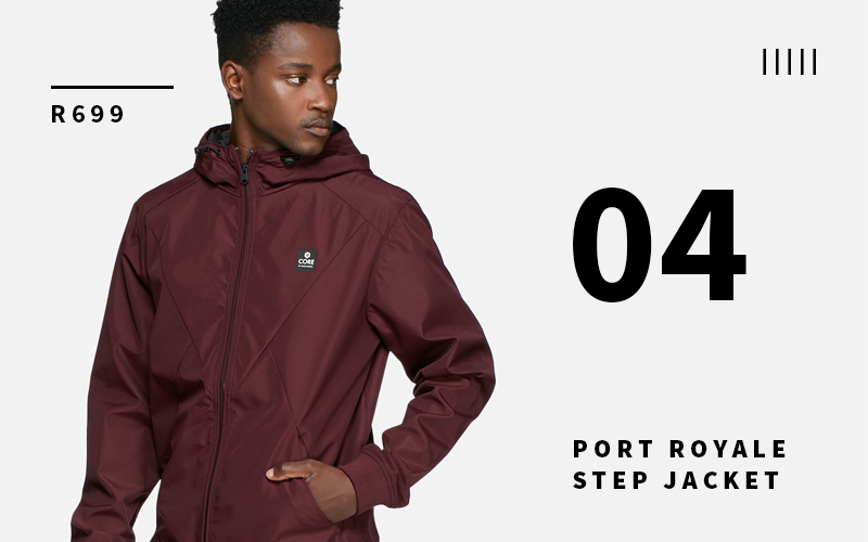 step jacket jack&jones