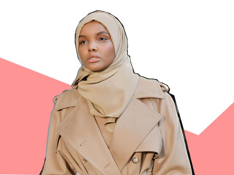 halima aden new york fashion week hijab runway model