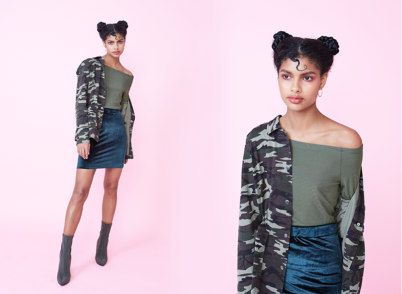 trends to try camo camouflage