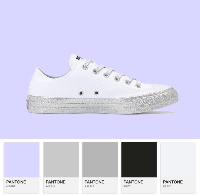 Chuck Taylor All Star Lo – white/silver