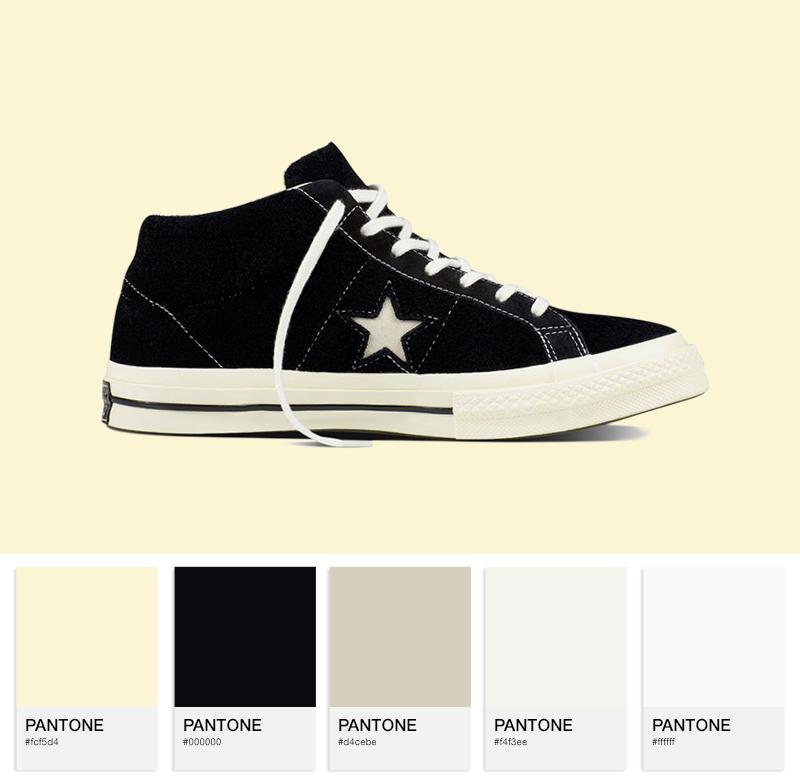 Converse Cons One Star PRM Mid - Black
