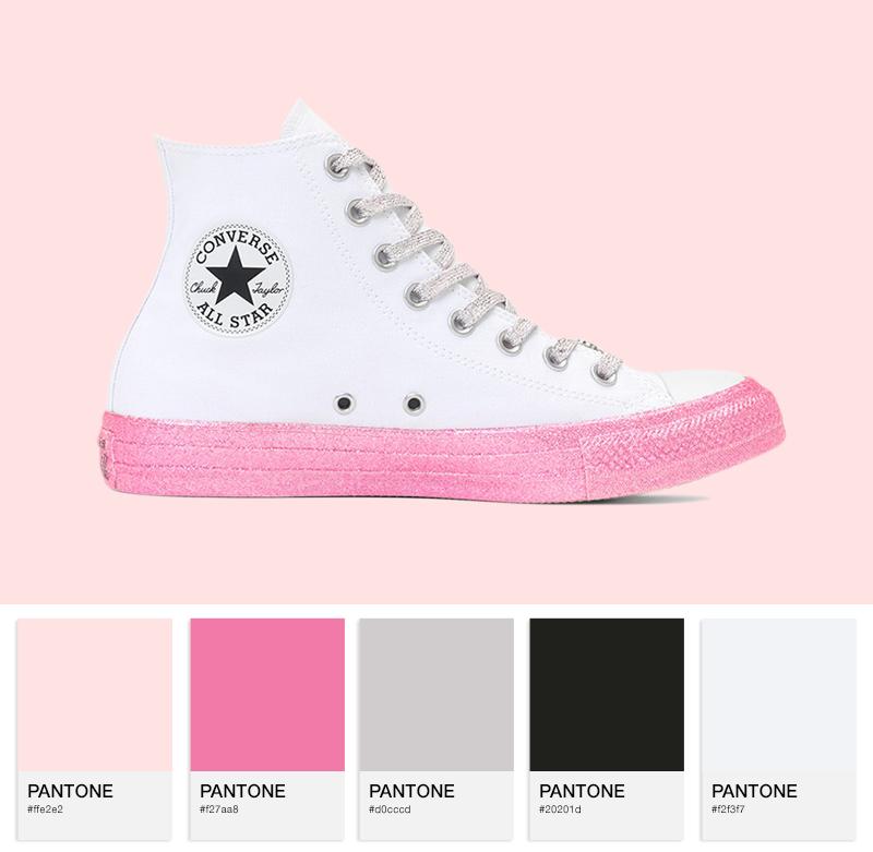 Chuck Taylor All Star Hi – pink/multi
