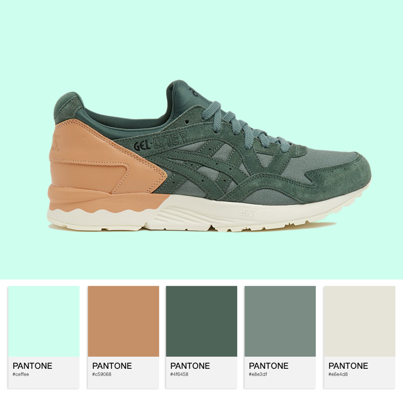 Asics Gel-Lyte V Dark Forest