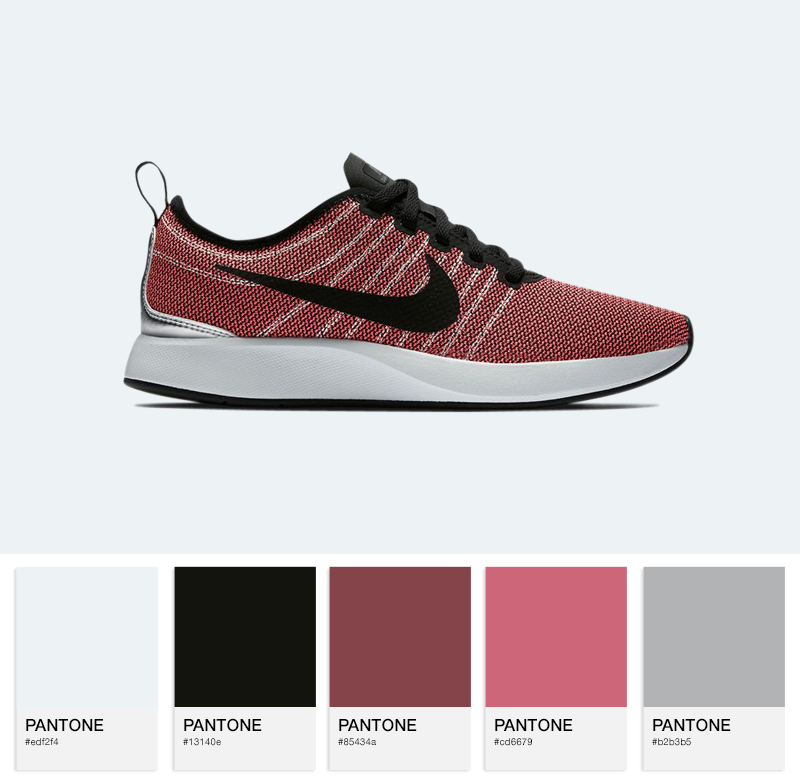 Nike W Dualtone Racer-917682-600-Solar Red/Black- Orewood/Brown White