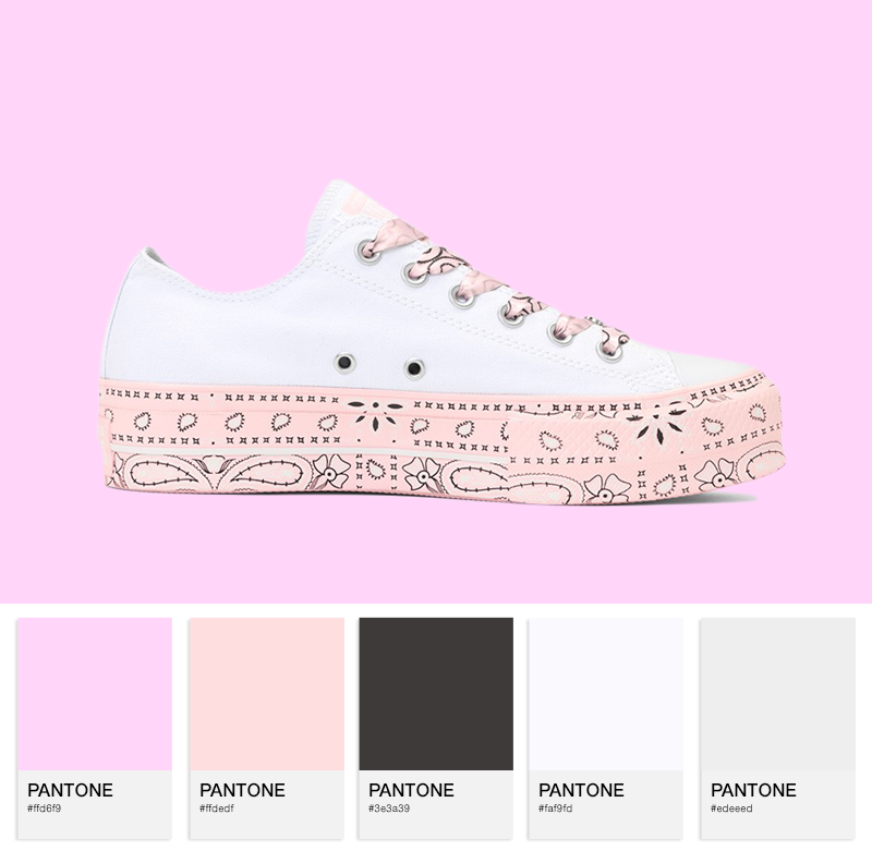 Chuck Taylor All Star Lo – white/pink