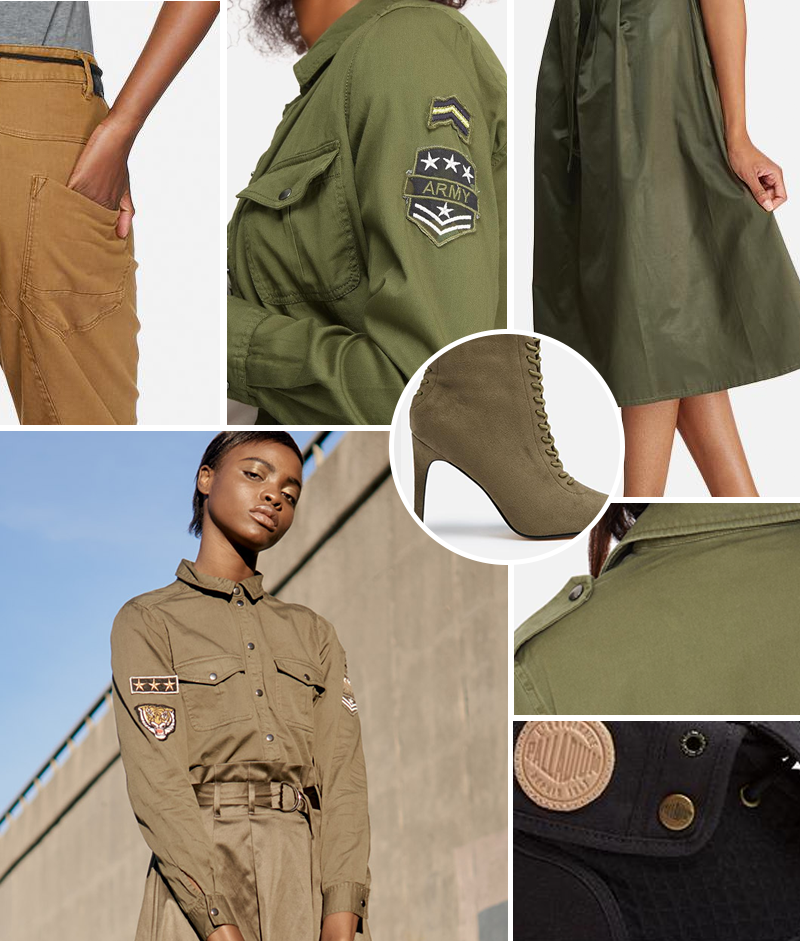 military fashion women superbalist