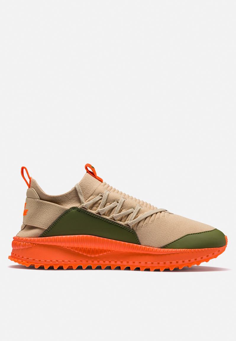 ca7f79aae4a Puma TSUGI Jun x ANR - 367701 01 - Pebble   Olive Branch Scarlet Ibis PUMA  Select Sneakers