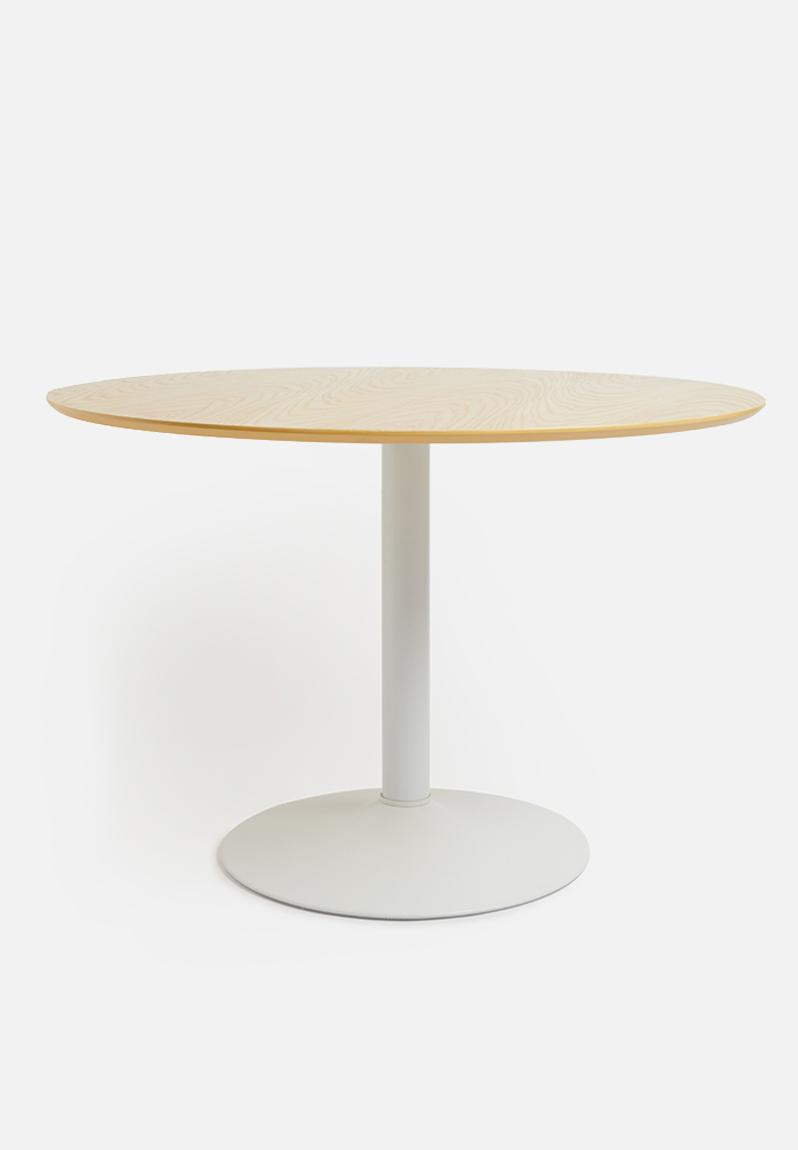 Ibiza Round Dining Table White Sixth Floor Tables Superbalist