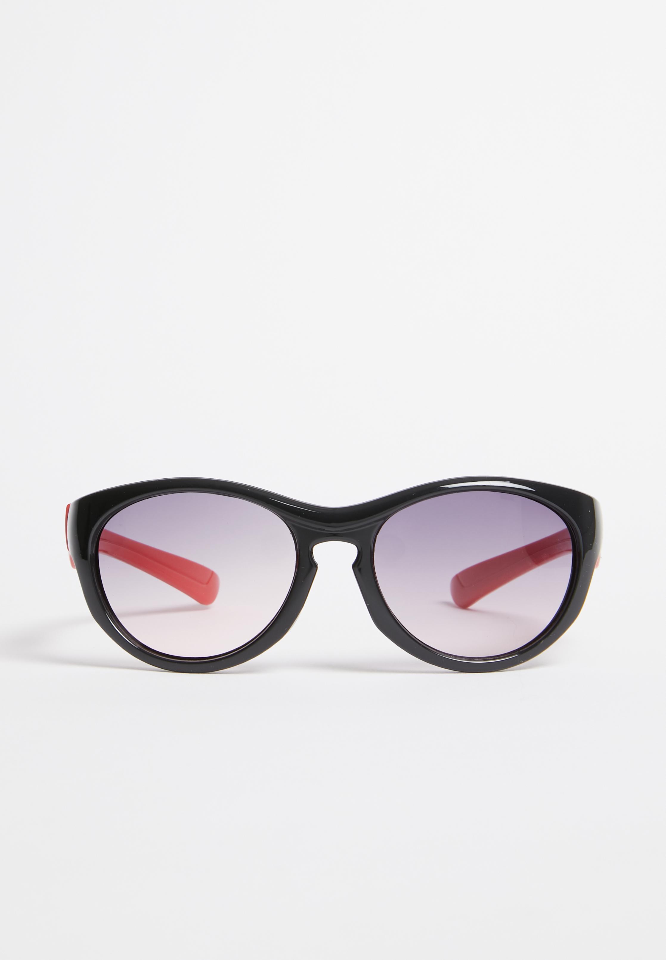 fe918de94a0 Wayfarer Colour Block Sunglasses Black POP CANDY Accessories ...