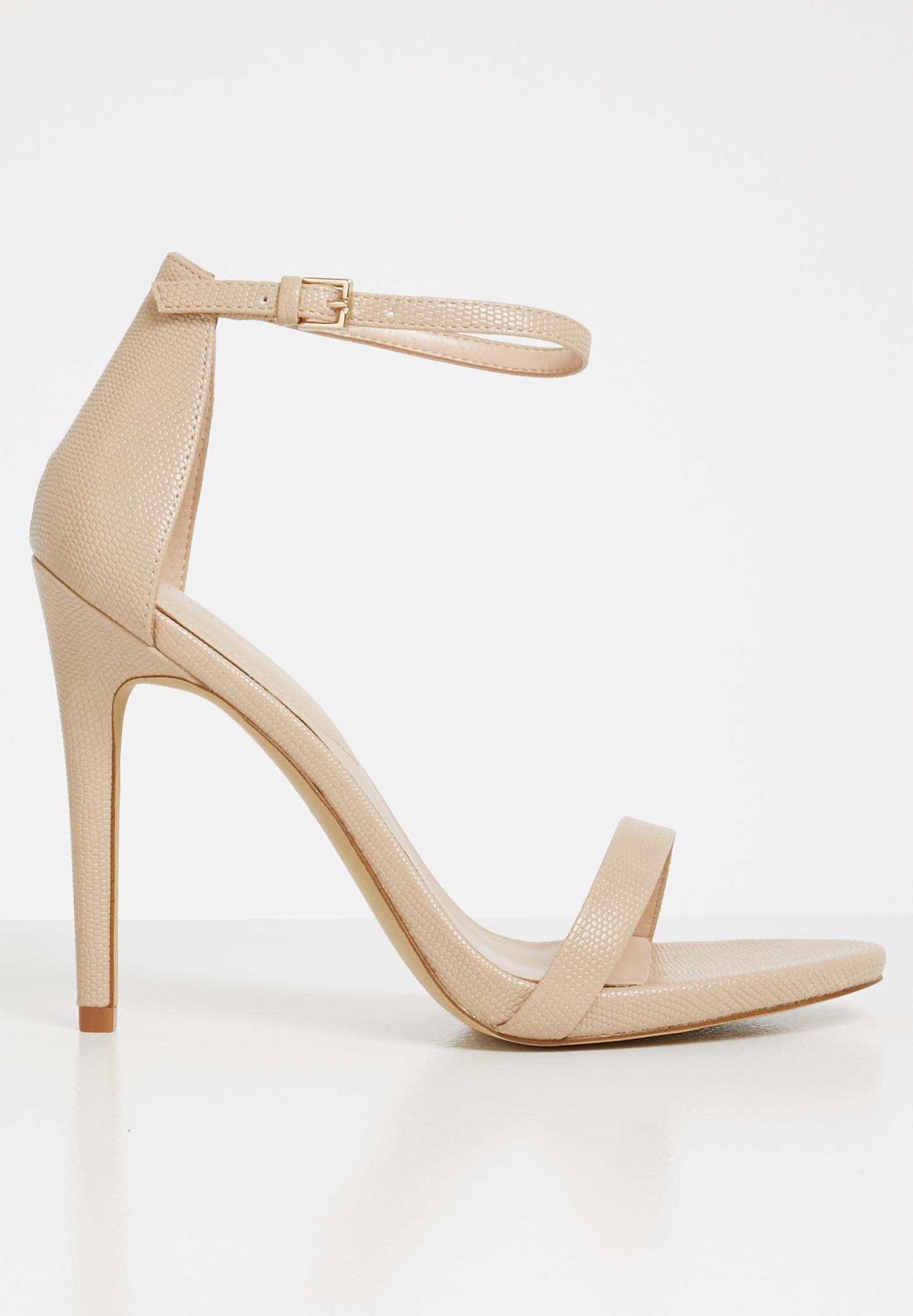 96757ae4a41 Caraa ankle strap stiletto heel sandal - neutral ALDO Heels ...
