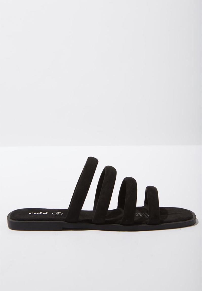 adcda4023 Chole strappy sandal - black Cotton On Sandals   Flip Flops ...