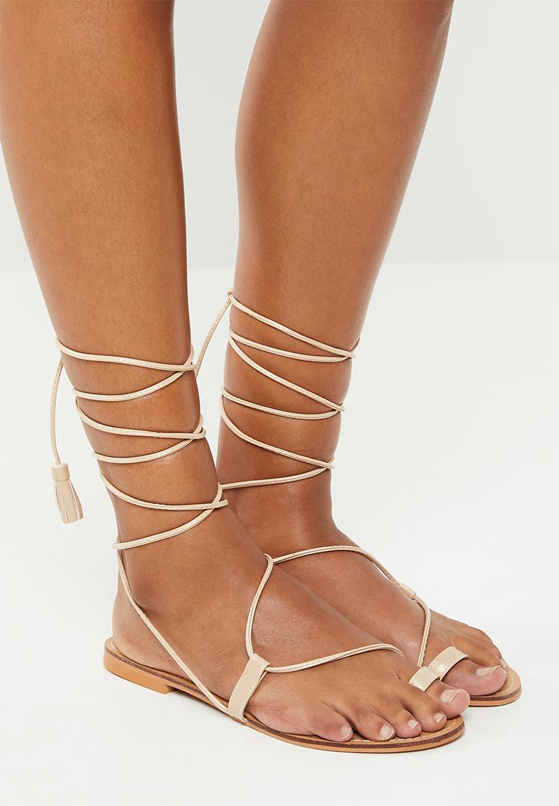 Neve - Khaki Footwork Heels | Superbalist.com