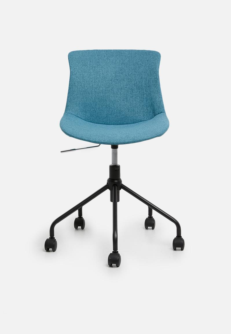 Image of: Rae Office Chair Turquoise Basics Chairs Superbalist Com