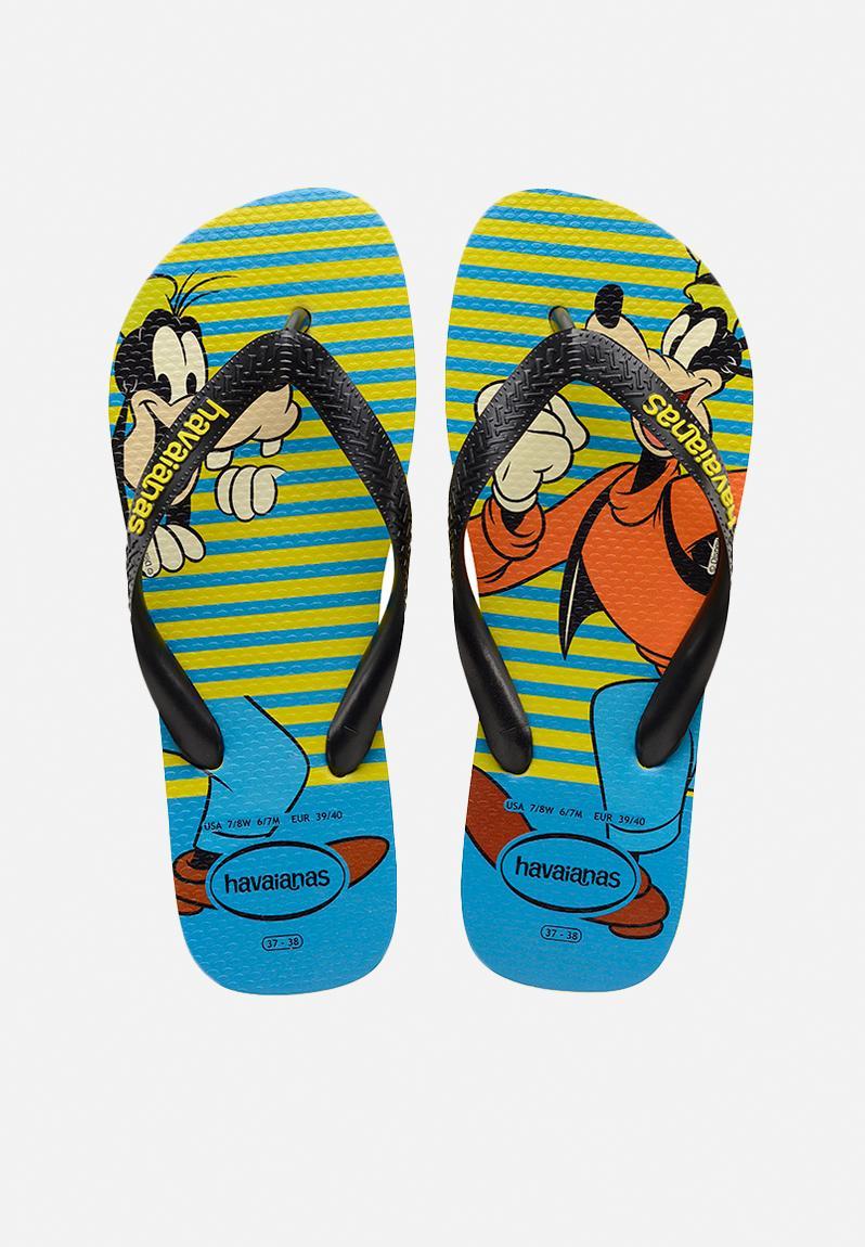 ecd5d81a25f4 Disney stylish flip flops - green   blue Havaianas Sandals   Flip Flops