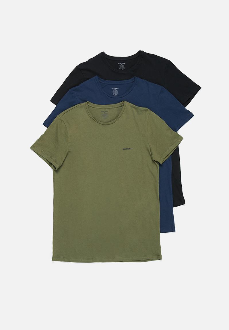 769db6712 Jake crew neck 3 pack tees - green