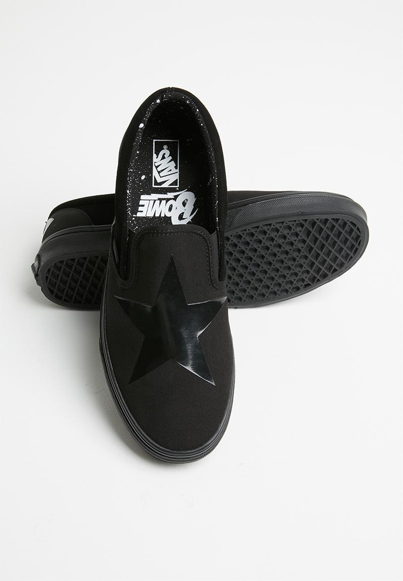 black david bowie vans