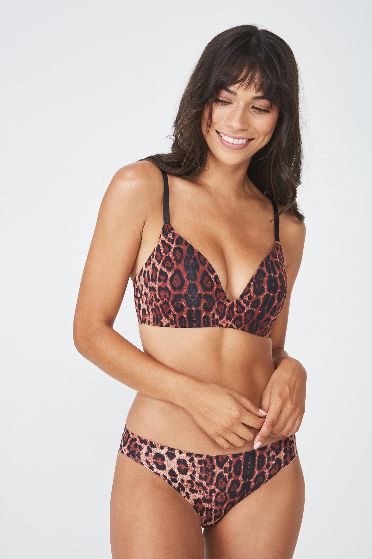d674f582e3 Ultimate comfort bra - true leopard Cotton On Bras