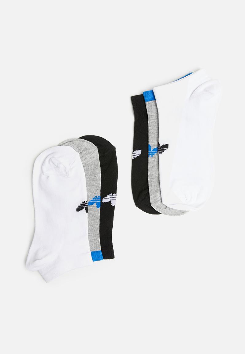 6e9d6d4da Women's 3pk trefoil liner sock - multi adidas Originals Stockings & Socks |  Superbalist.com