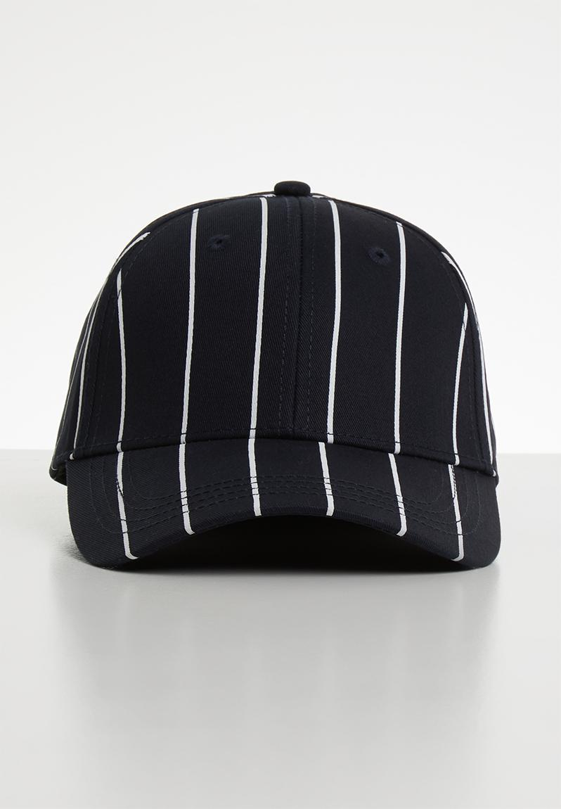 84855d7856816 Pinstripe baseball cap - navy blazer Jack   Jones Headwear ...