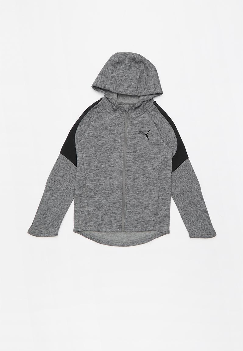 931476ce3210 Evostripe hoodie medium -grey heather PUMA Jackets   Knitwear ...