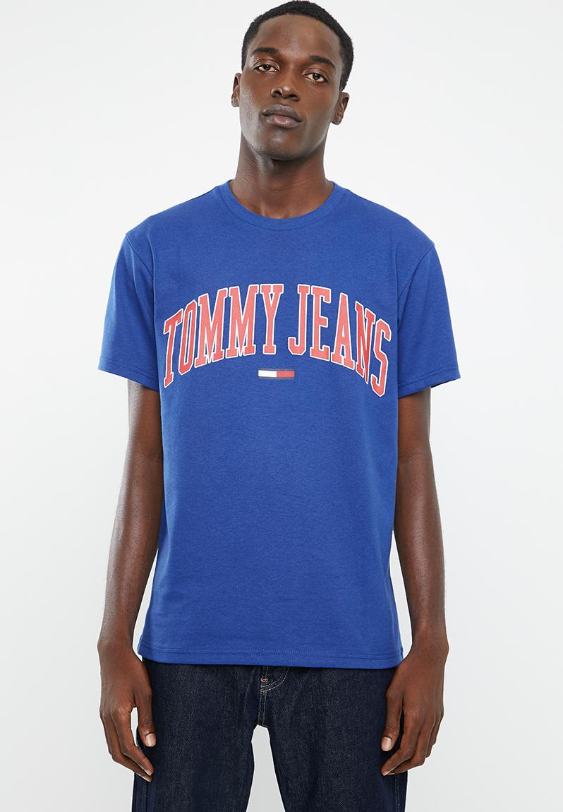 TOMMY HILFIGER TJM Collegiate Logo Tee Men's