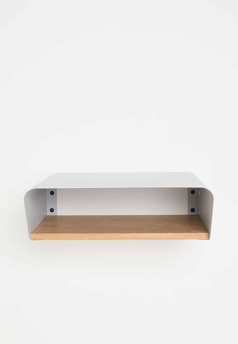 Light Grey Bedside Table: Stockholm Minima Bedside Table