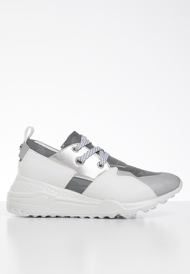 Cliff sneaker - grey metallic Steve