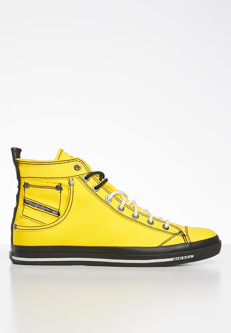 freesia yellow Diesel Sneakers