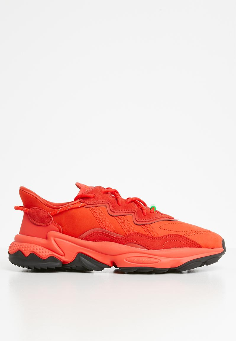 Comparación unos pocos trabajo duro  Oz adiprene - EE7000 - HI-Res Red / Solar Green adidas Originals Sneakers |  Superbalist.com