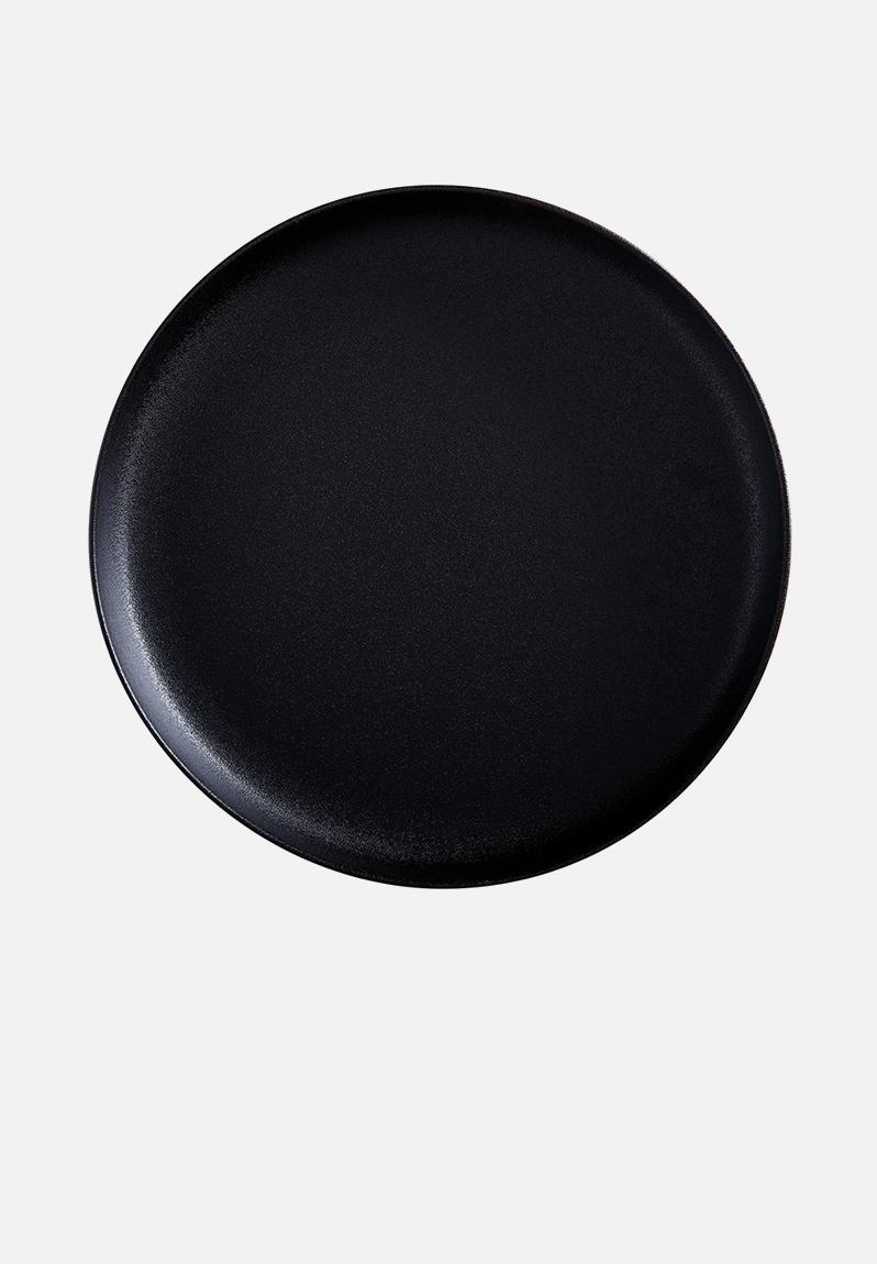 Caviar Round Platter Black Maxwell Amp Williams Dining