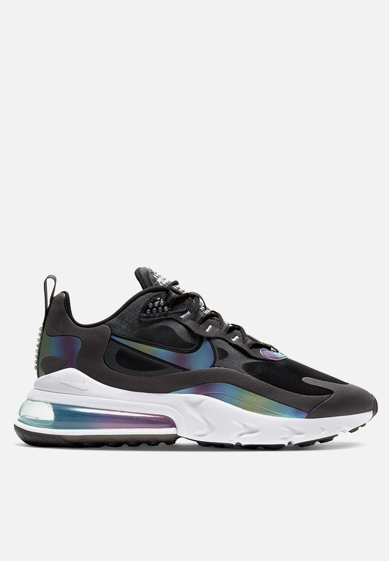 Air Max 270 React 20 Ct5064 001 Dk Smoke Gry Multi Color Blk