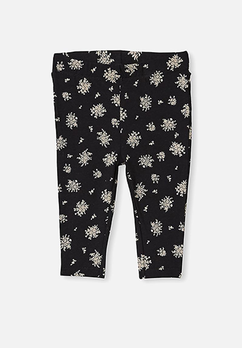 Quinn Ruffle Legging Black Olivia White Floral Cotton On Pants Jeans Superbalist Com