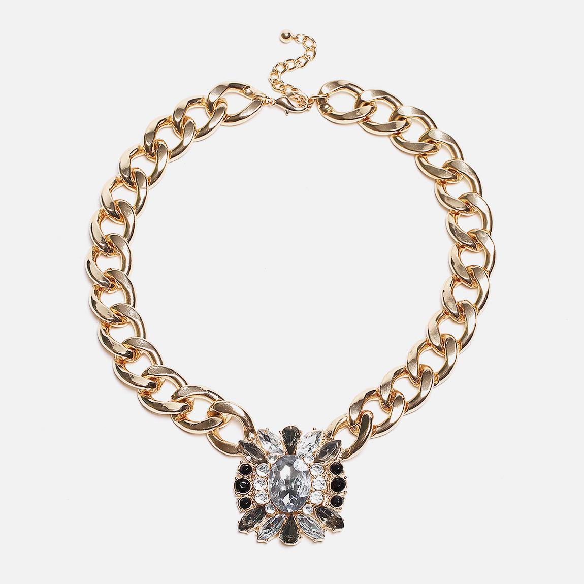 bamey necklace gold vero moda jewellery superbalistcom