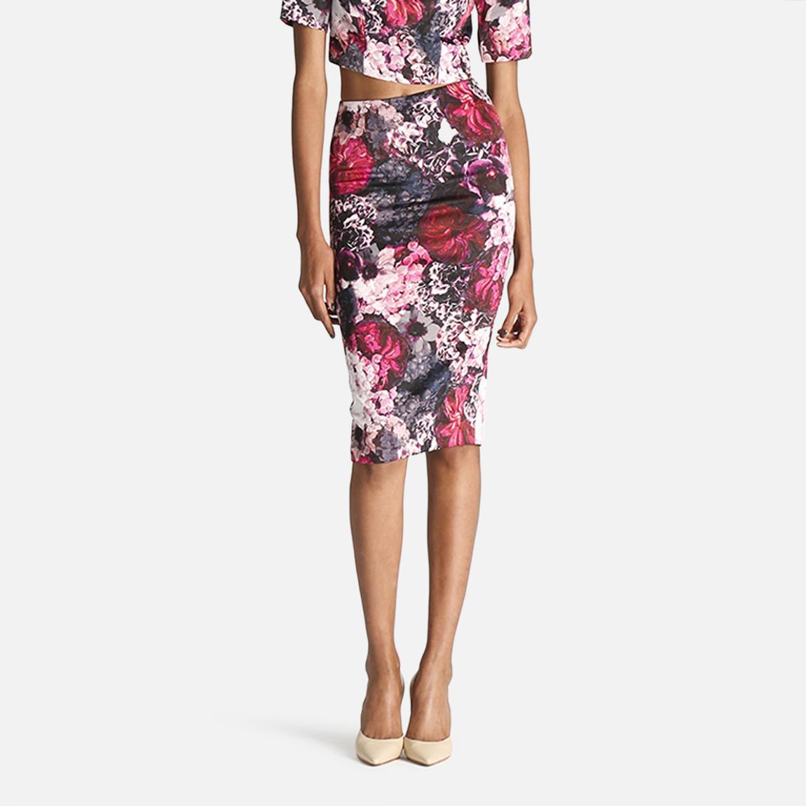 winter floral midi skirt bardot skirts superbalist