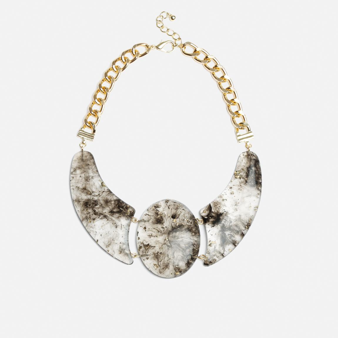 lulie necklace gold vero moda jewellery superbalistcom