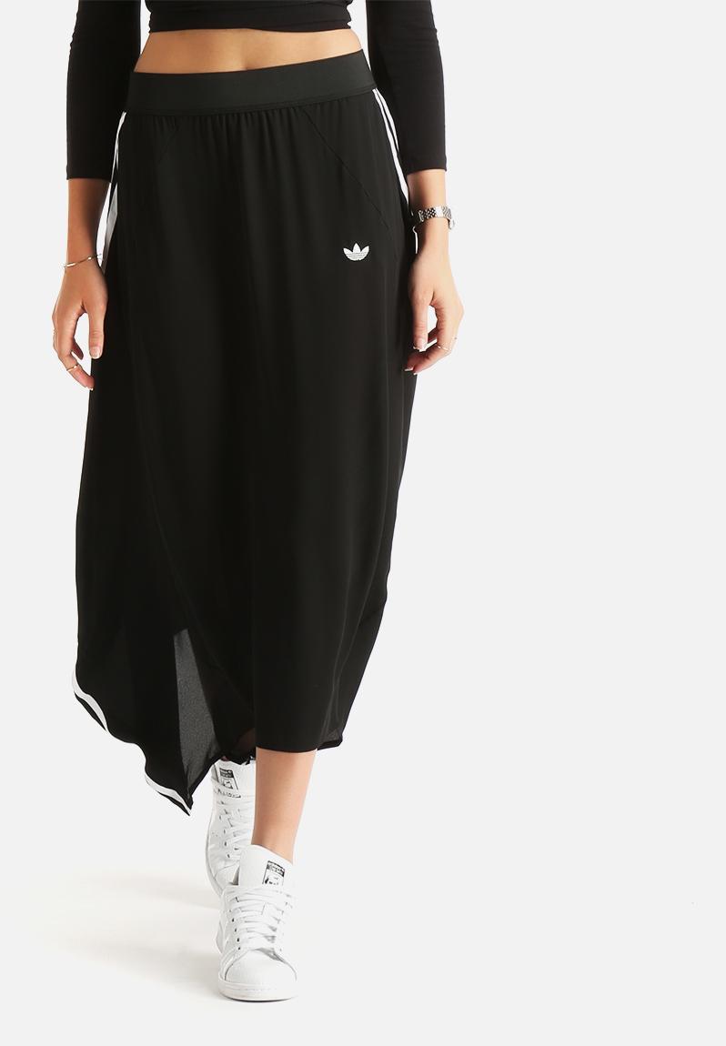32cbfc86b Berlin Logo Skirt - Black adidas Originals Skirts   Superbalist.com