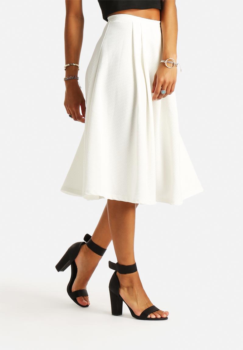 Brilliant New Look Womenu0026#39;s Clean Cord Aline Skirt Black 16 New
