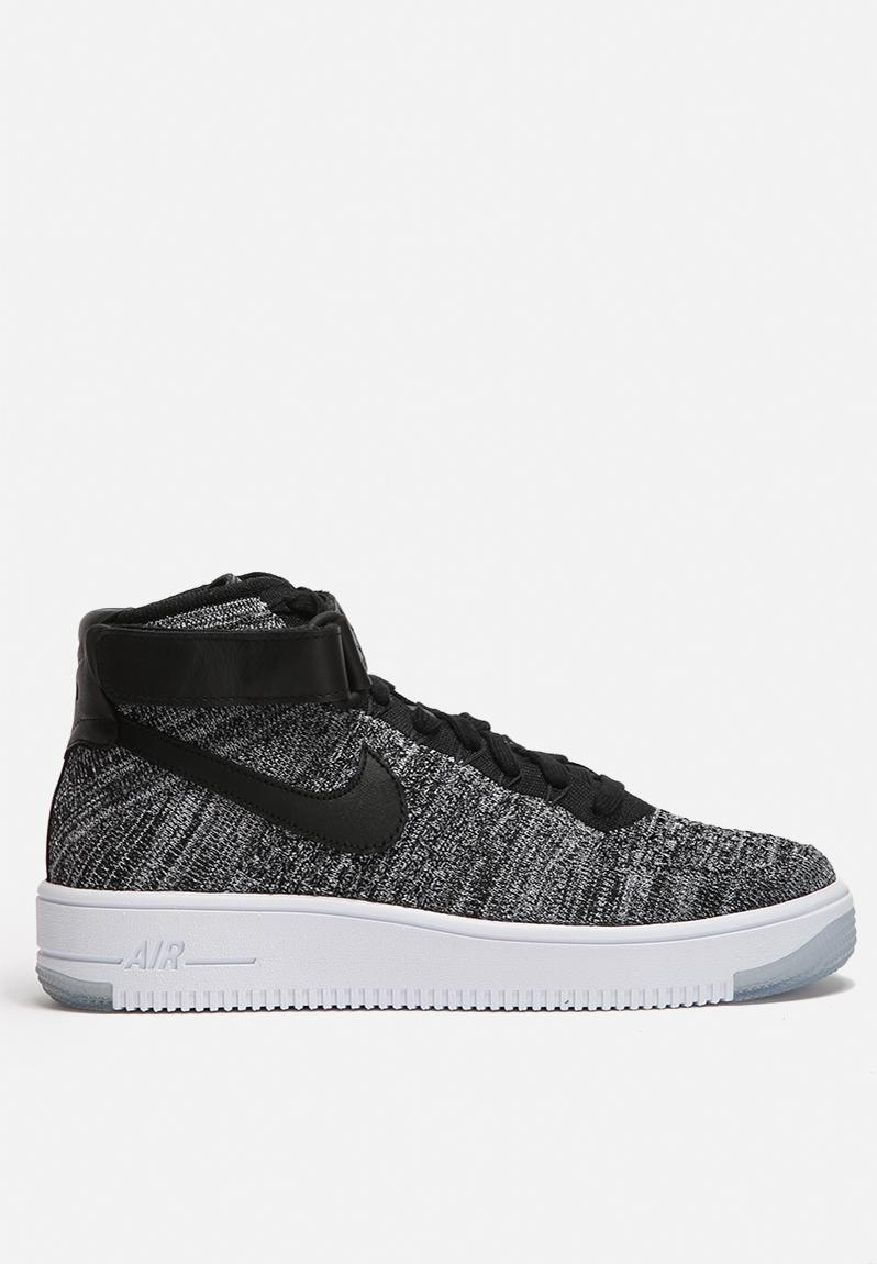 more photos 52f44 87308 Nike W Air Force 1 Ultra Flyknit - 818018-001 - Black / Black / White Nike  Sneakers | Superbalist.com