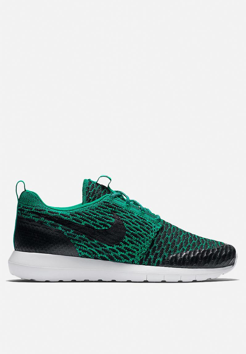 buy online b3a1a dad26 Nike Roshe One NM Flyknit SE - 816531-300 - Lucid Green   Blk   Wht Nike  Sneakers   Superbalist.com