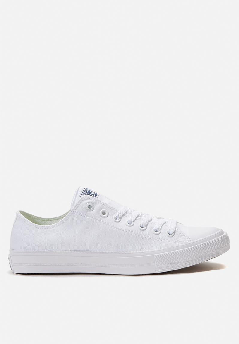 a9fc95e2d82 Converse CTAS II Low - 150154C - Optic White Converse Sneakers ...