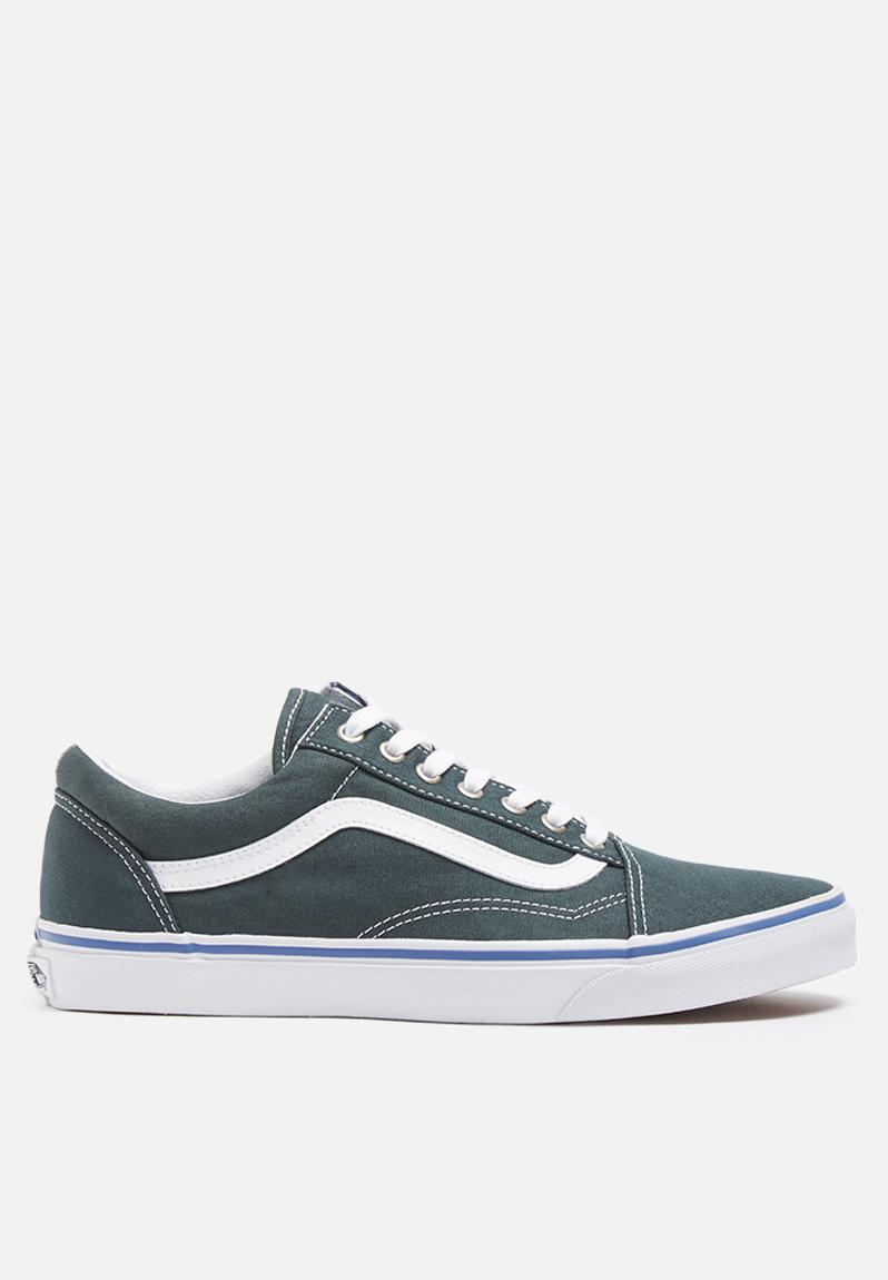 8ce0154181 Vans Old Skool - Green Gables   True White Vans Sneakers ...