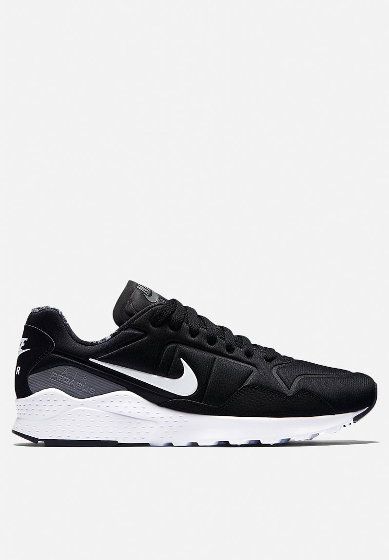 66c7288745af Nike Zoom Pegasus 92 - 844652-001 - Black   White   Dark Grey Nike Sneakers