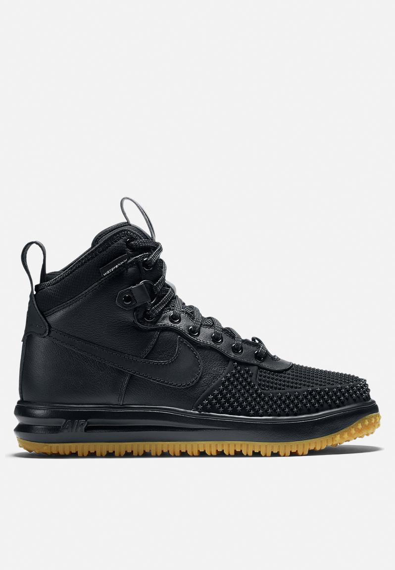 Nike Lunar Force 1 Duckboot - 805899-003 - Black   Black Nike Sneakers  ff0acd002