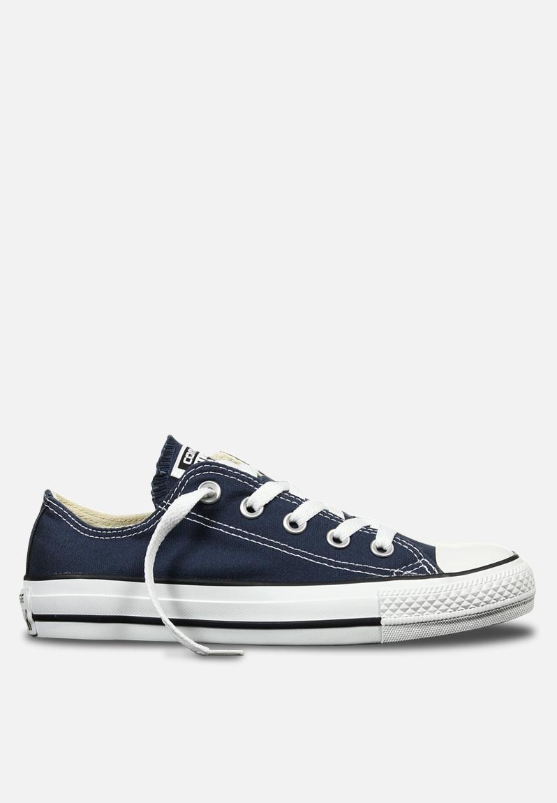 Converse CTAS OX Core Canvas - Navy Converse Sneakers  046234683