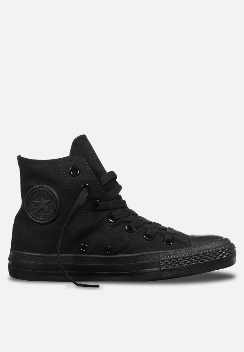 3fbe0c6e55e43d Converse CTAS HI Core Canvas Mono - Black Converse Sneakers ...