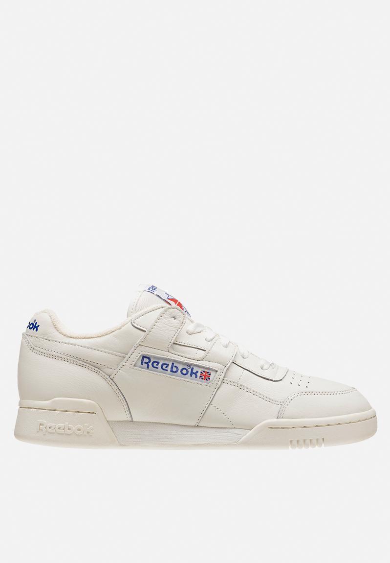 1e479934c1b62 Reebok Workout Plus-Vintage - BD3386 - Chalk Wht Rbk Royal  Red Reebok  Classic Sneakers