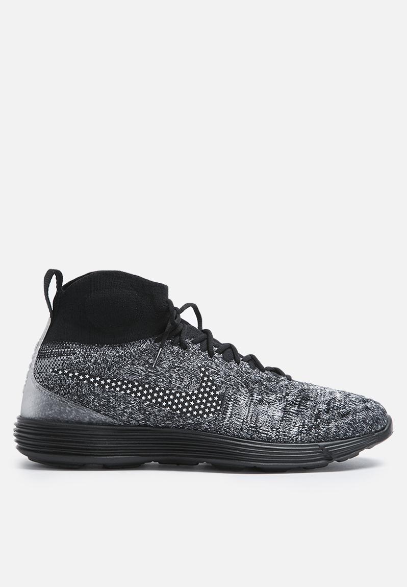 820bb1cc185d Nike Lunar Magista II Flyknit FC - 876385-001 - Black   Black   White Nike  Sneakers