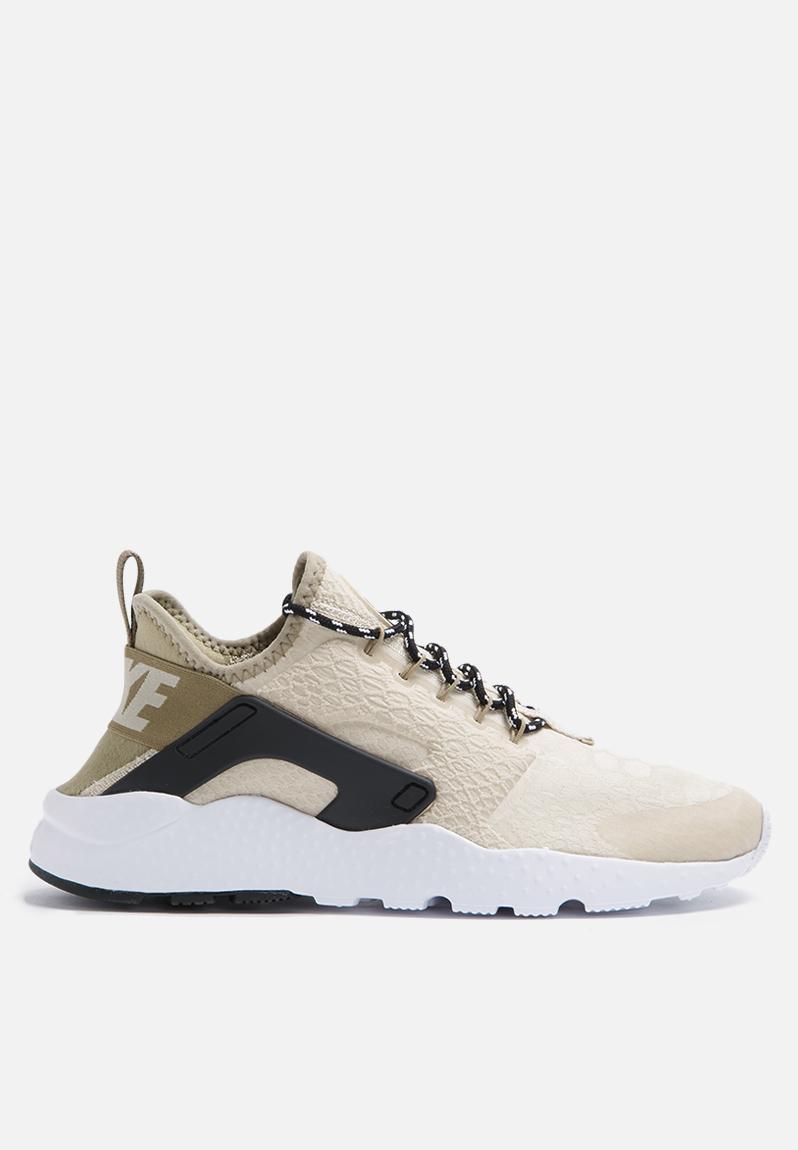 5f2fea083879 Nike W Air Huarache Run Ultra SE - 859516-100 - Oatmeal   Khaki Black Nike  Sneakers